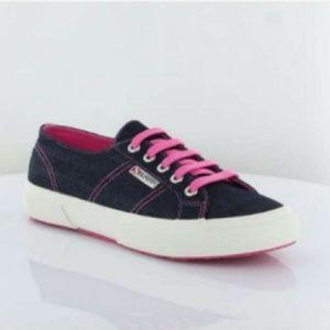 💕 EUC Superga Denim Sneakers